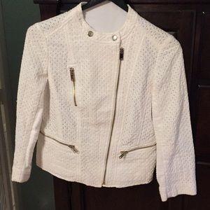 Ann Taylor eyelet jacket